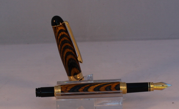 Pen 385 Fountain Tiger wood